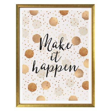 Poster Fredriksson - Make it Happen - Dots