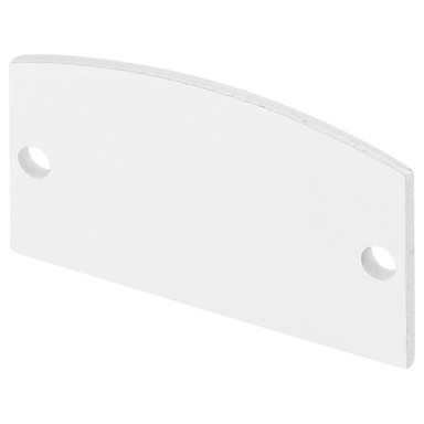 Endkappe für Glenos Linear Profil, 2er Set, weiss