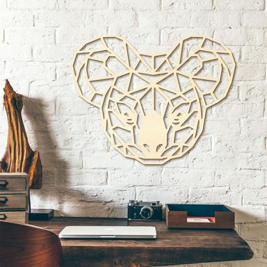 Holzkunst Pappel - Origami Koala