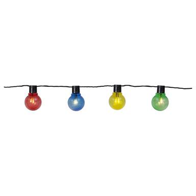LED Partykette Partaj in Mehrfarbig 16-flammig IP44