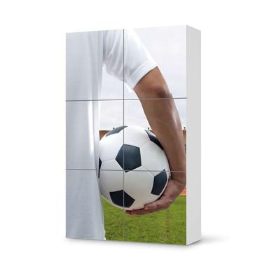 Möbel Klebefolie IKEA Besta Schrank 6 Türen (hoch) - Footballmania