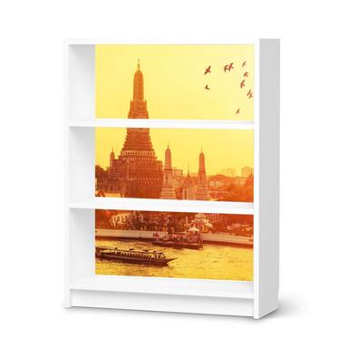 Möbelfolie IKEA Billy Regal 3 Fächer - Bangkok Sunset