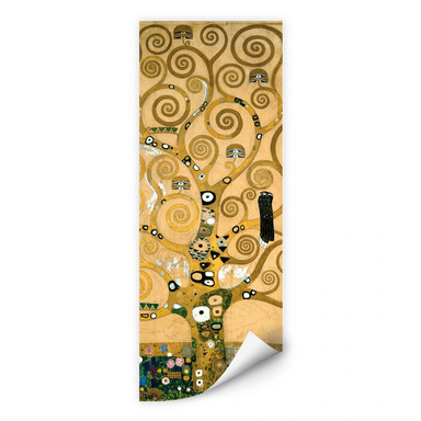 Wallprint Klimt - Der Lebensbaum