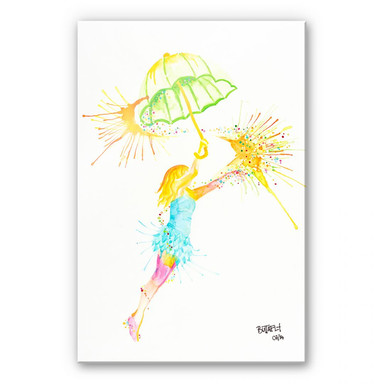 Acrylglasbild Buttafly - Dreamcatcher