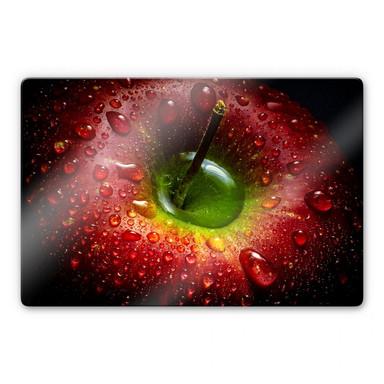 Glasbild Ianeva - Roter Apfel