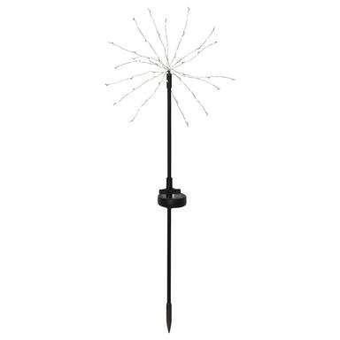 LED Solar Dekoration Firework in Schwarz IP44 600x250mm
