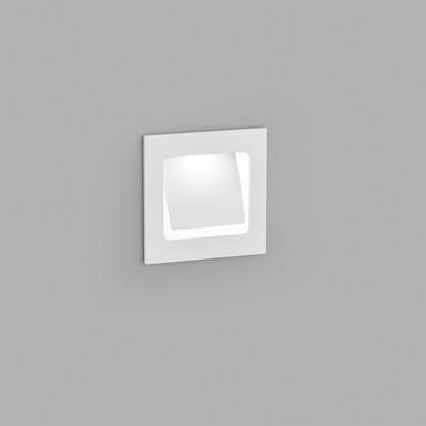 LED Wandeinbauleuchte Sent in Weiss-matt 2W 250lm IP54