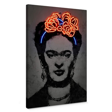 Leinwandbild Mielu - Frida