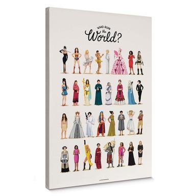 Leinwandbild Tohmé - Who run the World