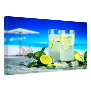 Leinwandbild Tropical Lime