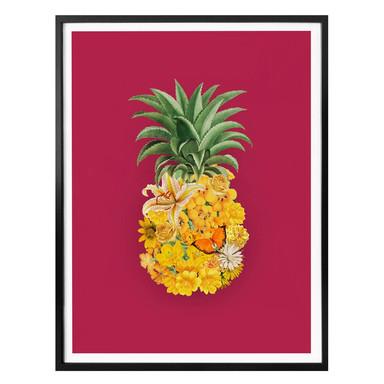 Poster Feldmann - Pineapple Pink Floral