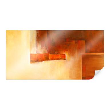 Poster Schüssler - Orange-Brown Balance