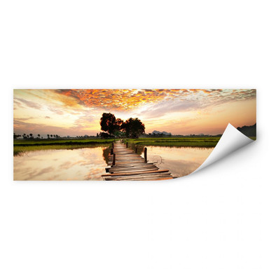 Wallprint To the other Side - Panorama