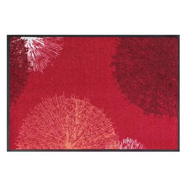 Wash&Dry Decor Fussmatte Firework red