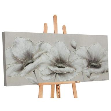 Acryl Gemälde handgemalt Blumen II 120x60cm