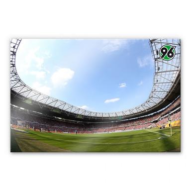 Acrylglasbild Hannover 96 - Stadion Innenansicht
