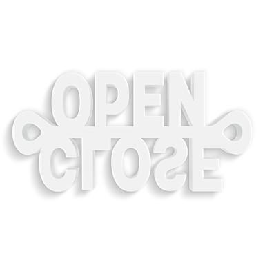 Dekobuchstaben 3D-Anhänger -Open-Close-