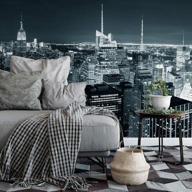 Fototapete New York at Night 2 Panorama