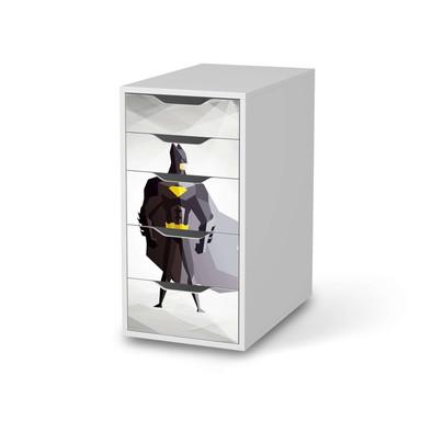 Klebefolie IKEA Alex 5 Schubladen - Mr. Black