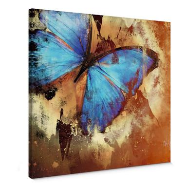 Leinwandbild Butterfly Ice