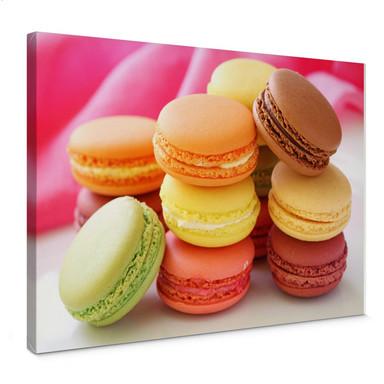 Leinwandbild Sweet Macarons