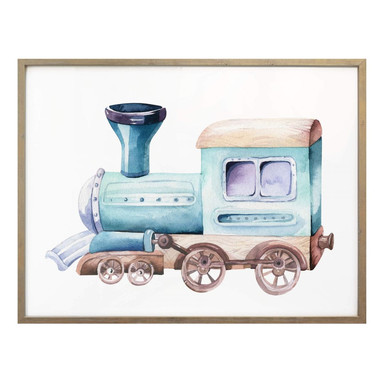 Poster Kvilis - Die Lokomotive