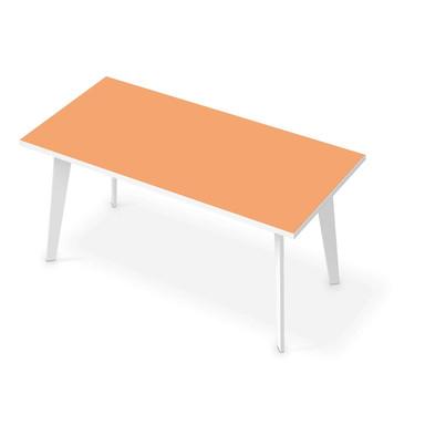 Tischfolie - Orange Light