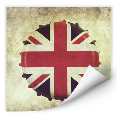 Wallprint Britischer Kronkorken