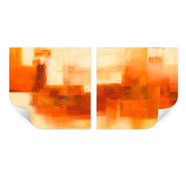 Wallprint Schüssler - Cosmic Connection (2-teilig)