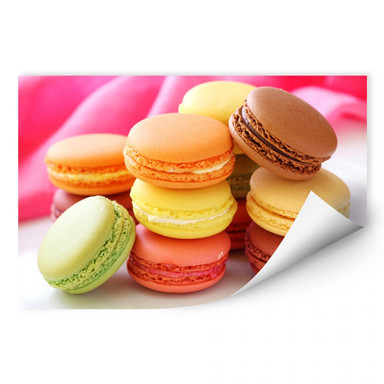 Wallprint Sweet Macarons