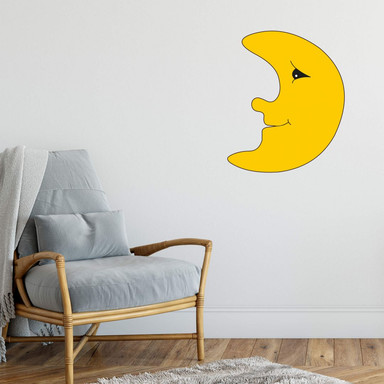 Wandsticker Mond