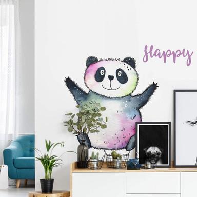 Wandtattoo Hagenmeyer - Happy Panda
