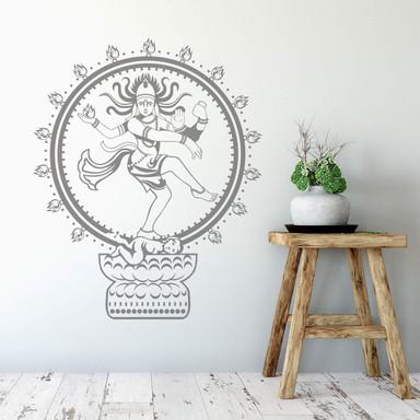 Wandtattoo Shiva