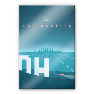 Acrylglasbild Rivers - Los Angeles