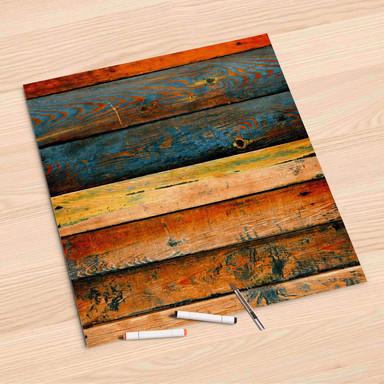 Folienbogen (60x60cm) - Wooden