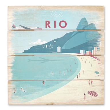 Holzbild Rivers - Rio de Janeiro