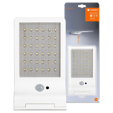 LED Wandleuchte in Weiss 3W 320lm IP44