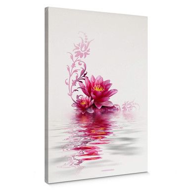 Leinwandbild Blütenzauber