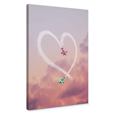 Leinwandbild Loose - Love is in the air