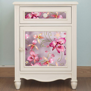 Metallicfolie Luxury Metallics pink orchid rose gold - selbstklebend - 150x45cm
