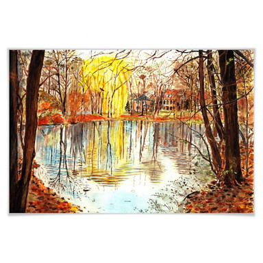 Poster Toetzke - Herbstzauber