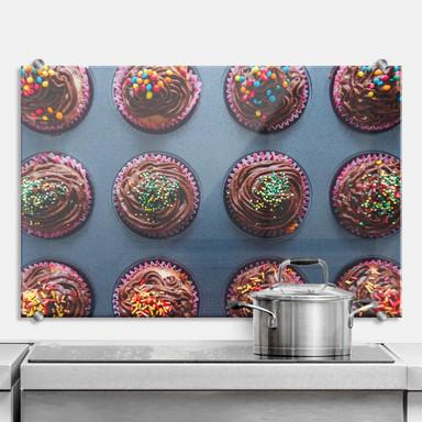 Spritzschutz Birthday Muffins
