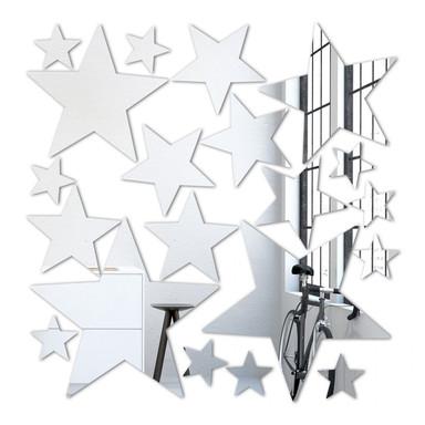 Wandspiegel Sternenset (20-teilig)