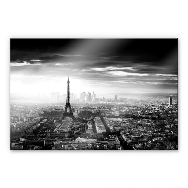 Acrylglasbild Marx - Paris im Nebel