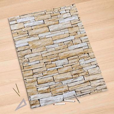 Folienbogen (100x150cm) - Sandstein
