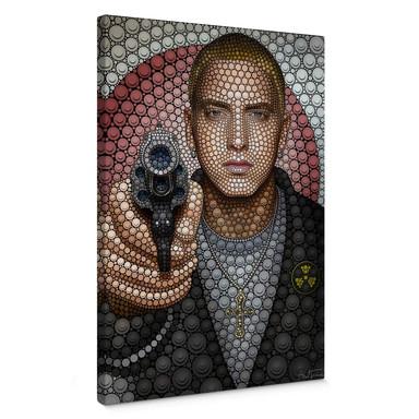 Leinwandbild Ben Heine - Circlism: Eminem