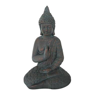 Sitzender Buddha - Statue Meditation für Garten und Raum - Bild 1