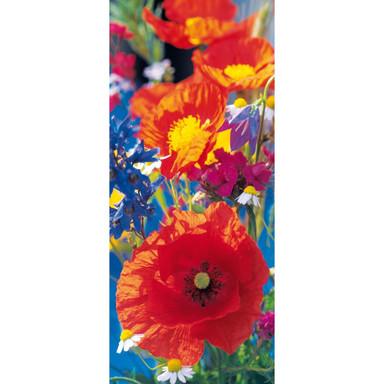 Türtapete Red Poppies - 86x200cm