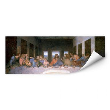 Wallprint Da Vinci - Das letzte Abendmahl - Panorama