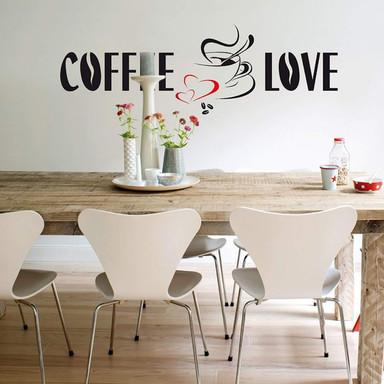 Wandsticker Kaffee - Bild 1